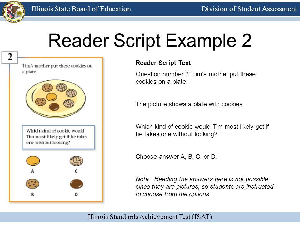 Reader Script Example 2 Reader Script Text