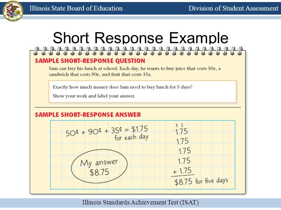 Short Response Example
