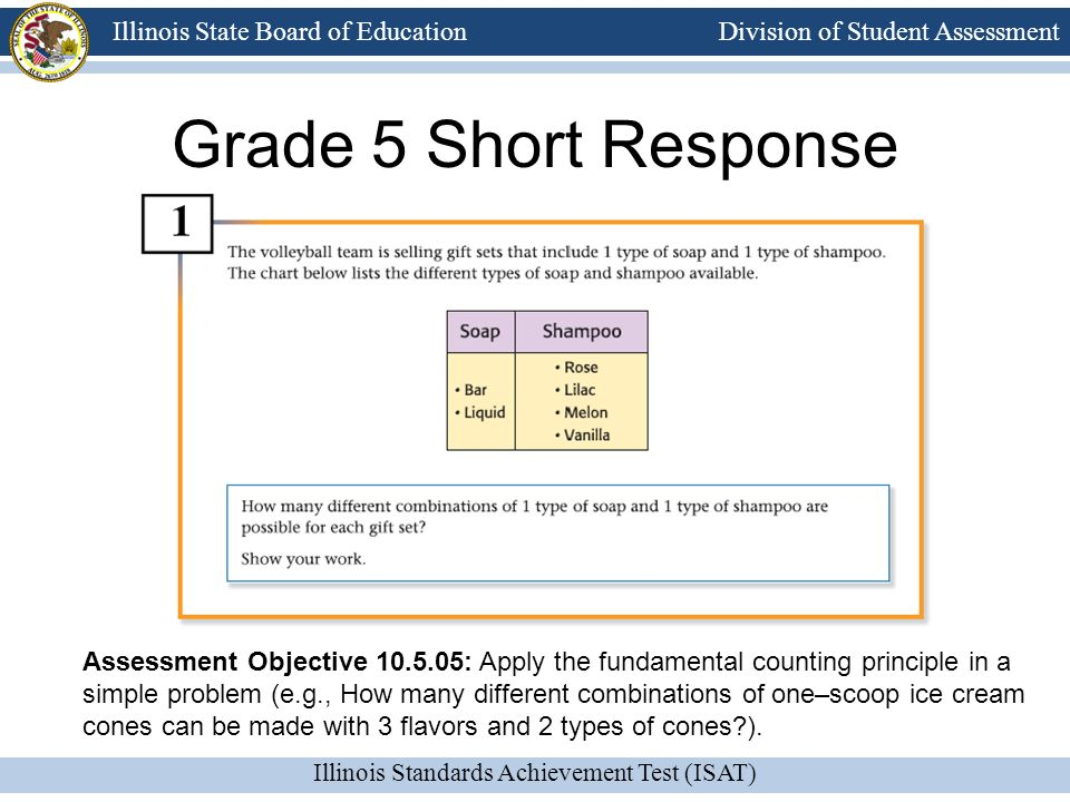 Grade 5 Short Response