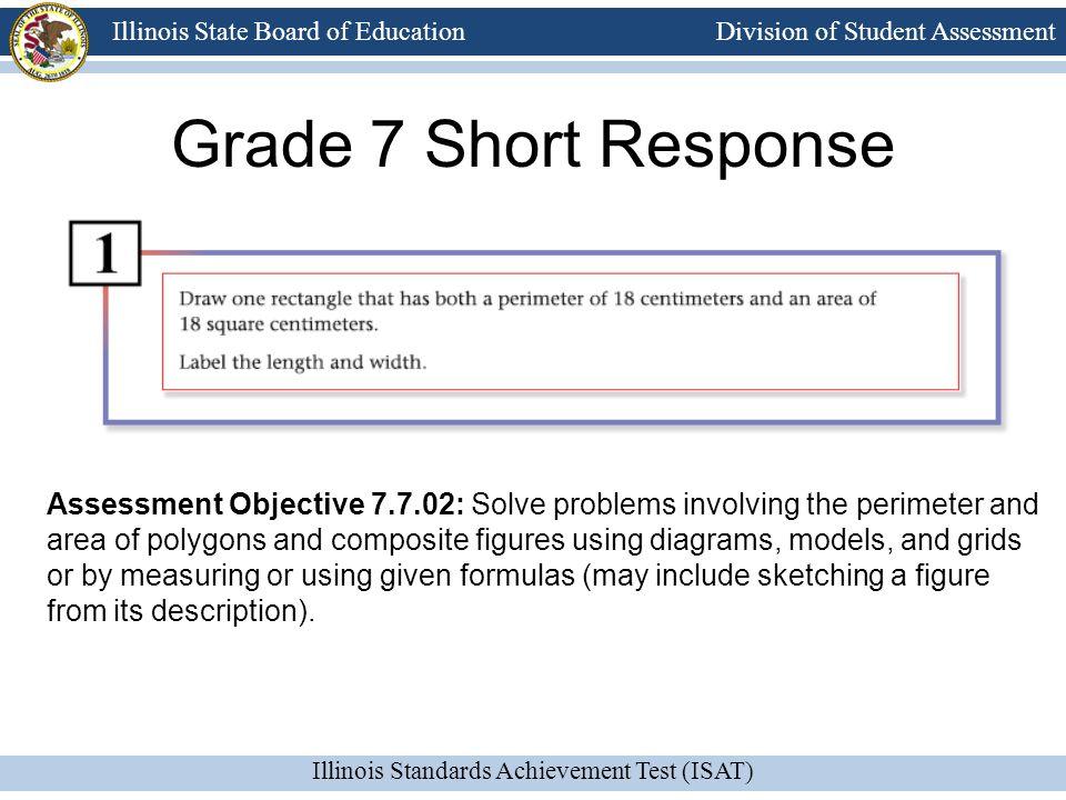 Grade 7 Short Response