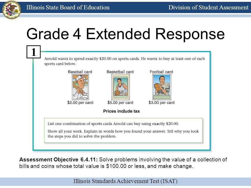 Grade 4 Extended Response