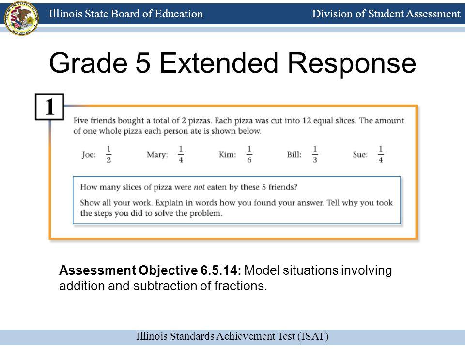 Grade 5 Extended Response
