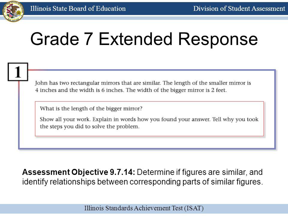 Grade 7 Extended Response