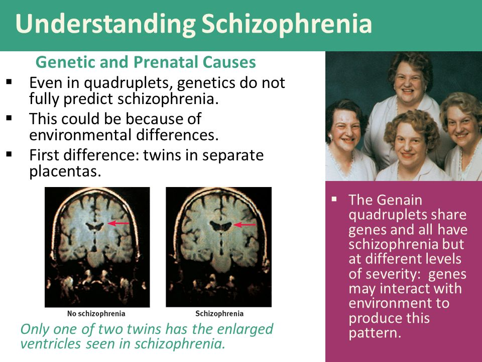 schizophrenia understanding the psychological disorder Schizophrenia is a serious mental illness that interferes with a person's ability to think clearly in young people who develop schizophrenia, this stage of the disorder is called the prodromal period with any condition.