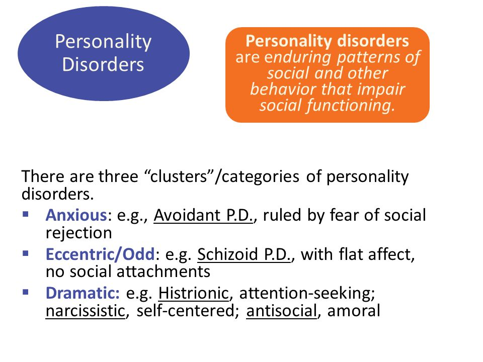 an analysis of avoidant personality disorder apd Much like the international personality disorder examination (ipde loranger,   antisocial pd (apd) continues to be of a popular interest to.