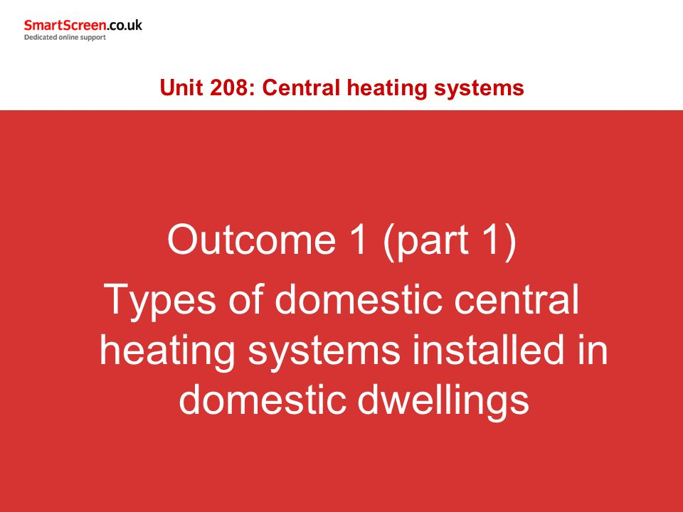 Awesome central heating system types pictures inspiration - Types of central heating systems ...