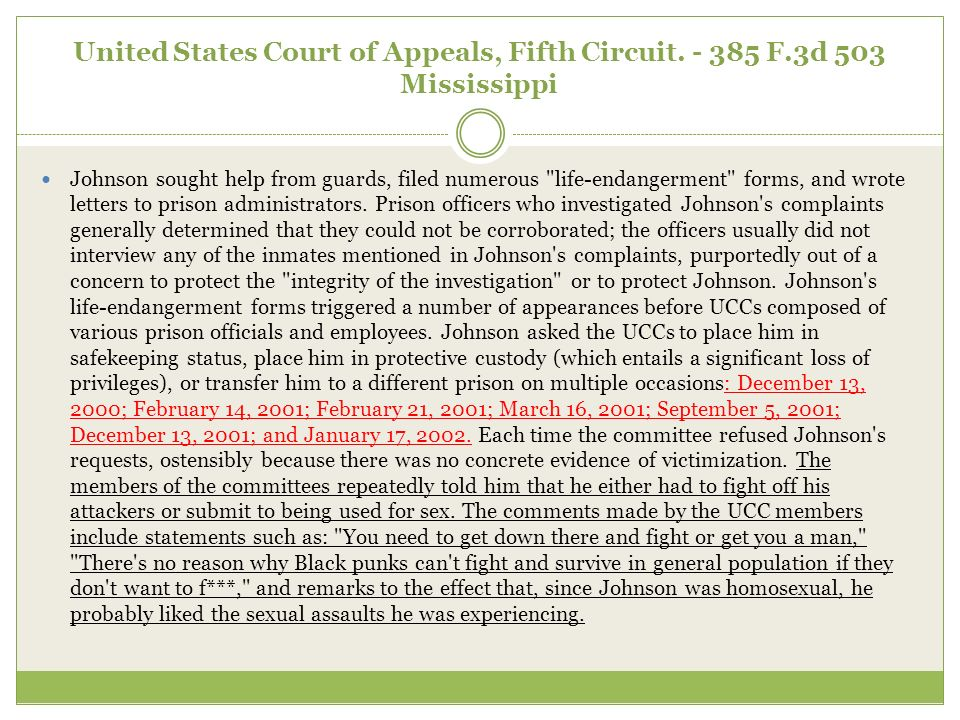 United States Court of Appeals, Fifth Circuit. - 385 F