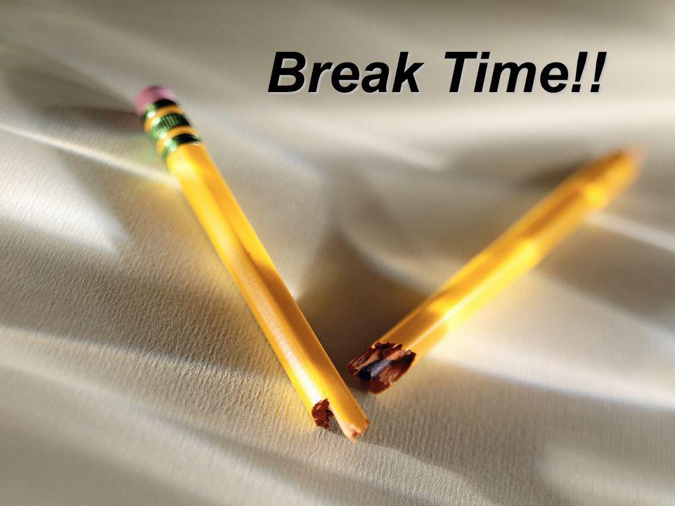 Break Time!!