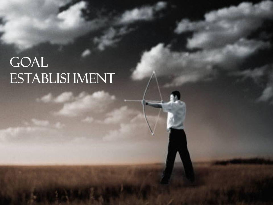 Goal Establishment