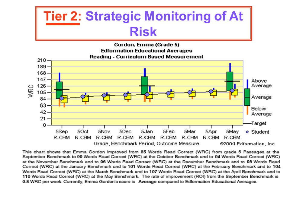 Tier 2: Strategic Monitoring of At Risk