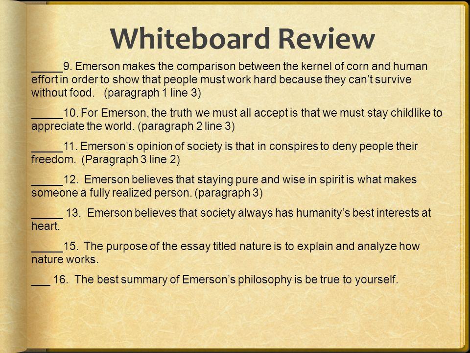 Twelve essential essays emerson