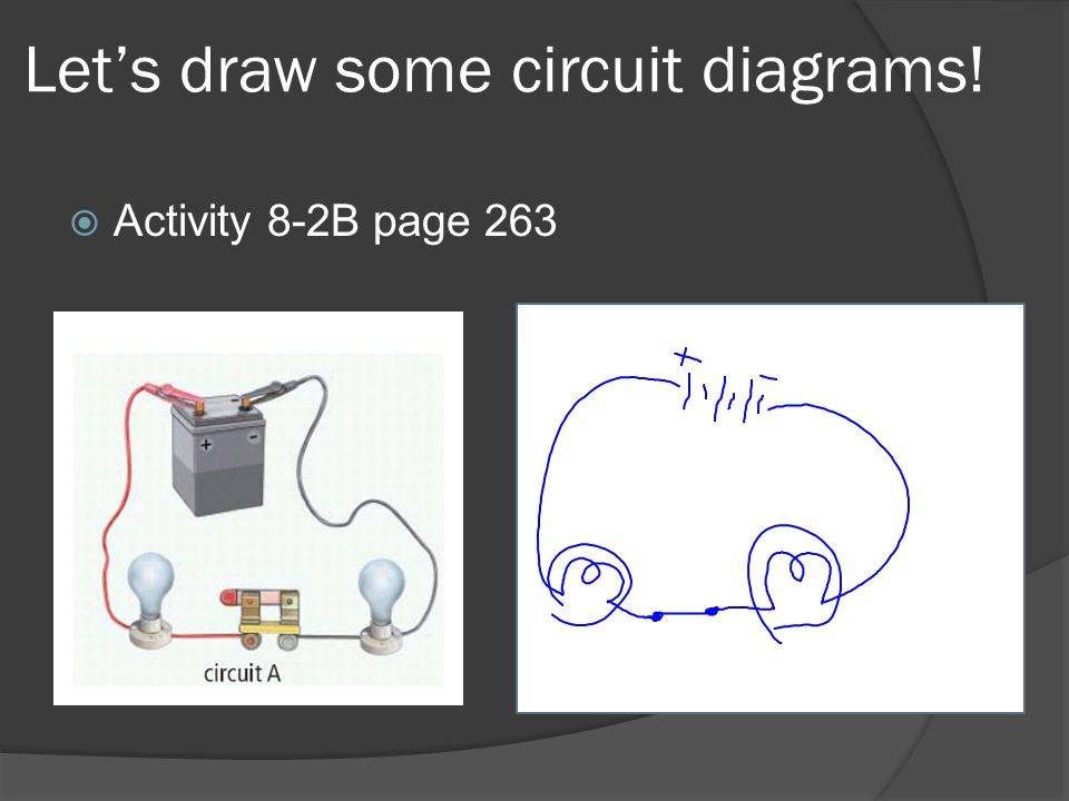 Let's draw some circuit diagrams!