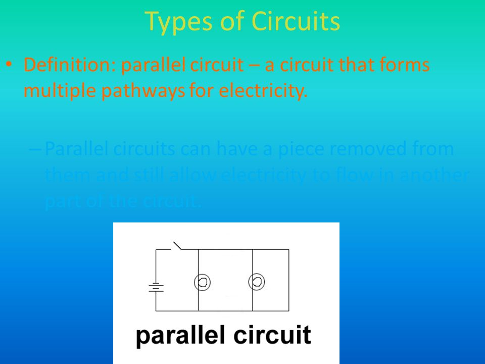 Chapter 16:Electricity Section 3 – Circuits. - ppt video ...