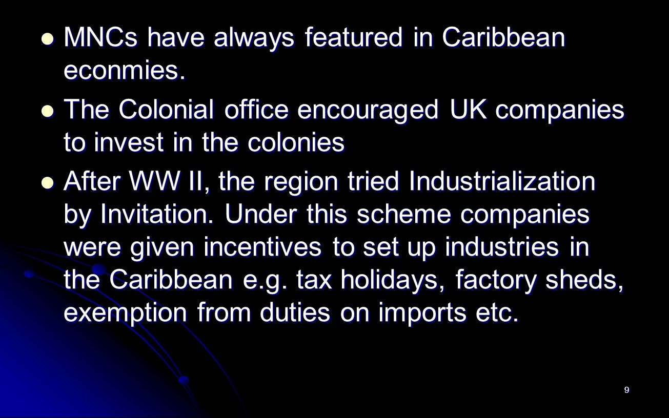industrialization by invitation Free industrialization papers, essays, and research papers the impact of industrialisation by invitation on the caribbean - this paper is endeavouring to demonstrate the concept of industrialisation by invitation and its social impact on the caribbean.