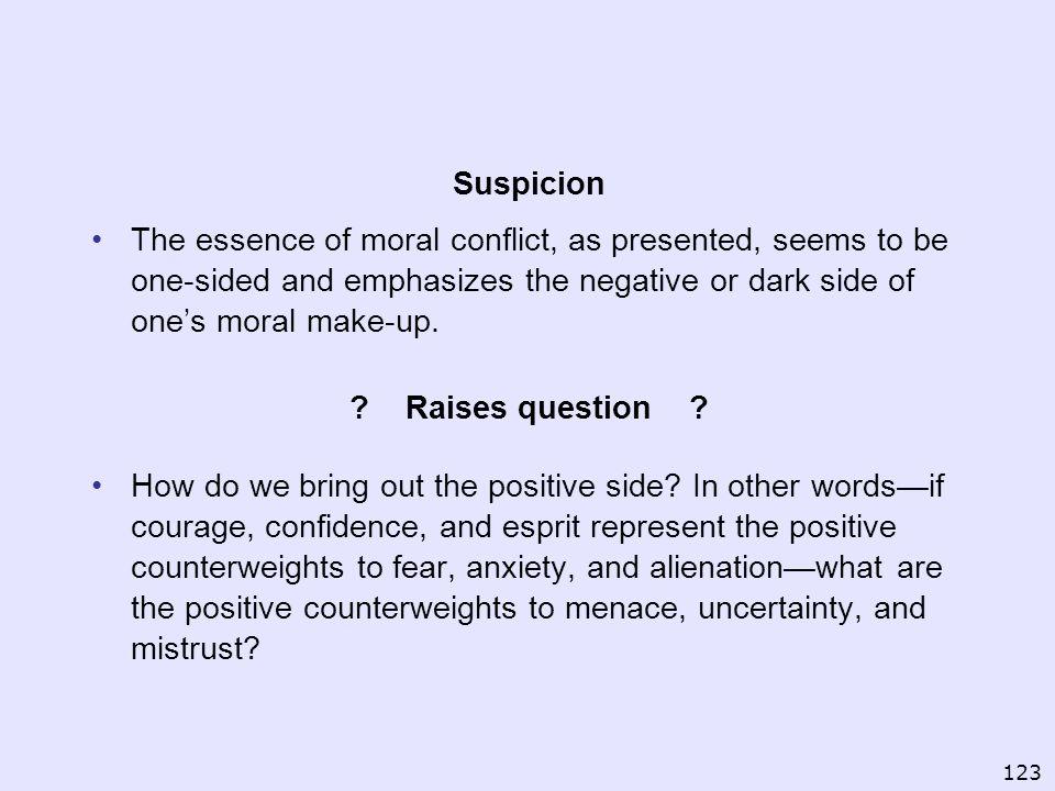 Suspicion Raises question