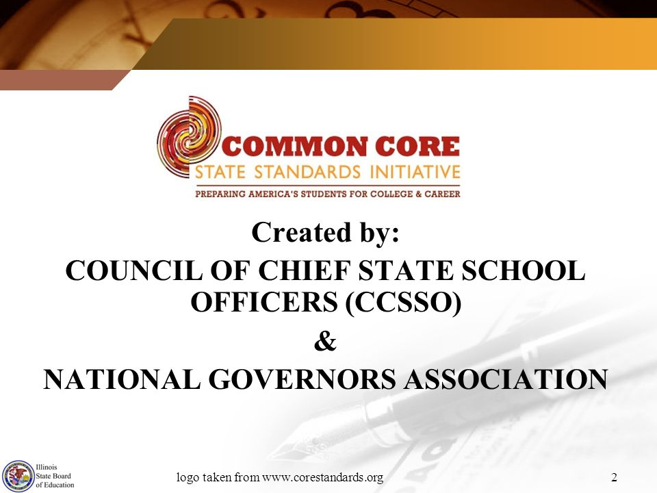 COUNCIL OF CHIEF STATE SCHOOL OFFICERS (CCSSO) &
