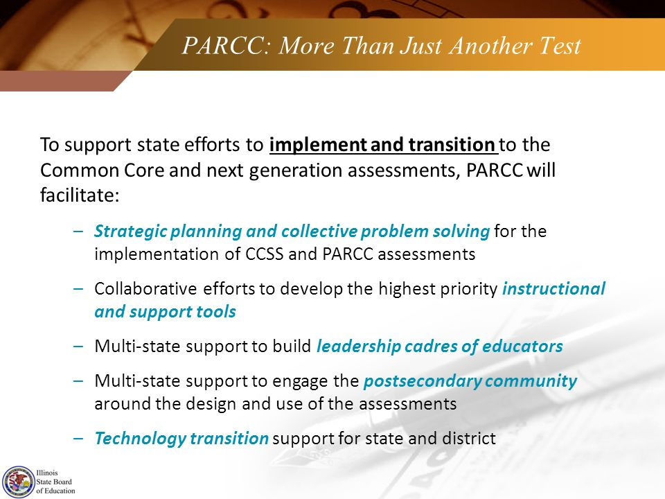 PARCC: More Than Just Another Test
