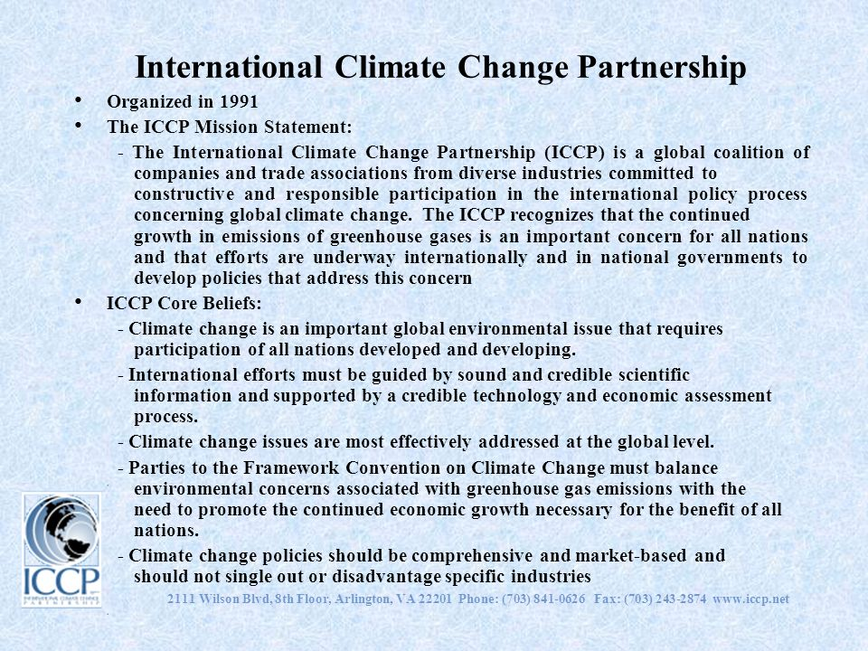 International Climate Change Partnership