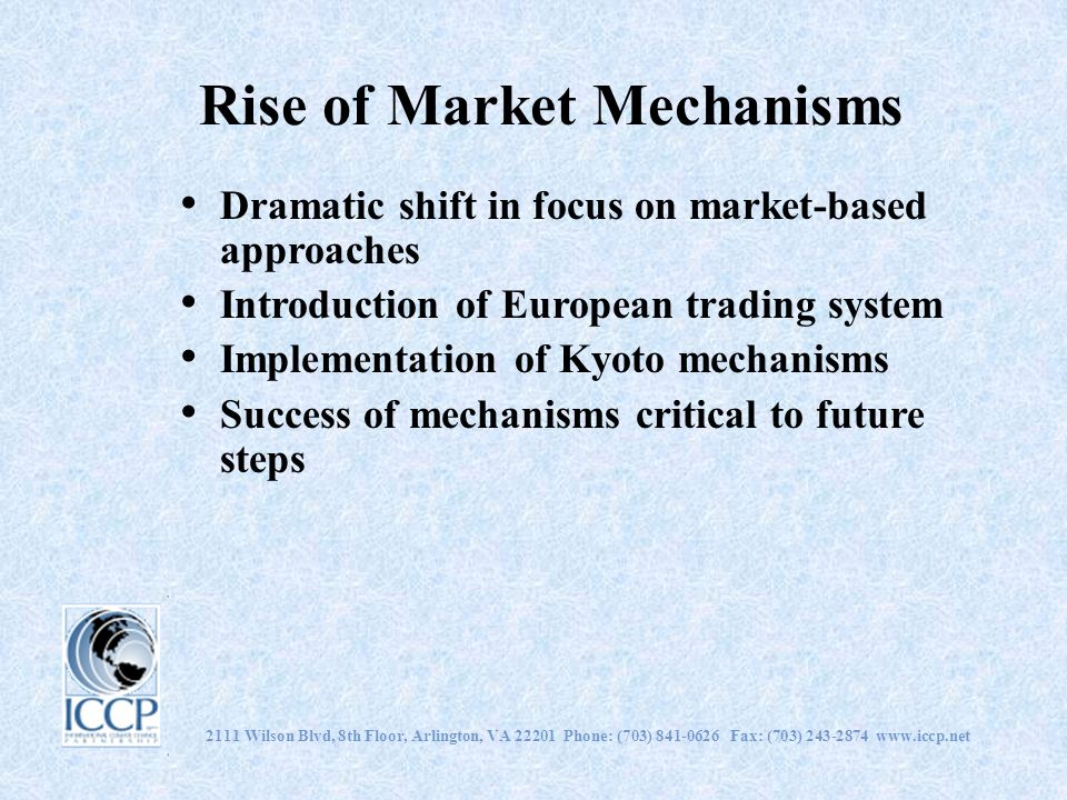 Rise of Market Mechanisms
