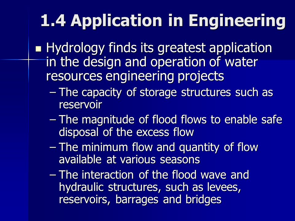 1.4 Application in Engineering