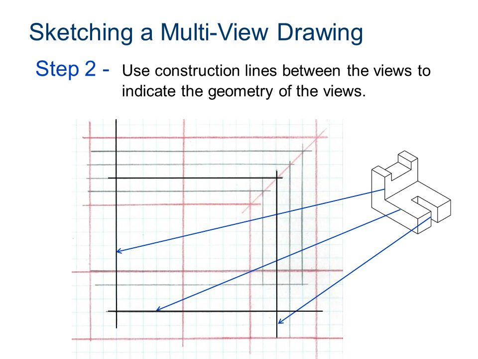 Lines Are Used In Art To Indicate : Multi view sketching washington technology magnet ied