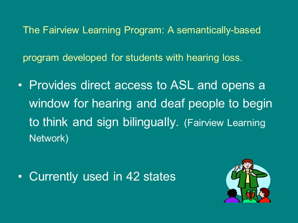 The Fairview Learning Program: A semantically-based