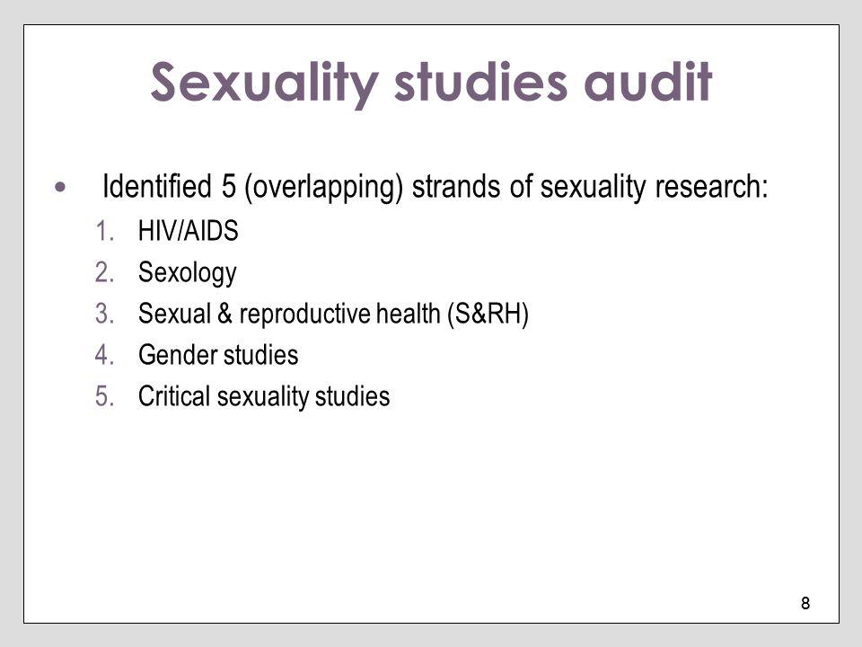 Sexuality studies audit