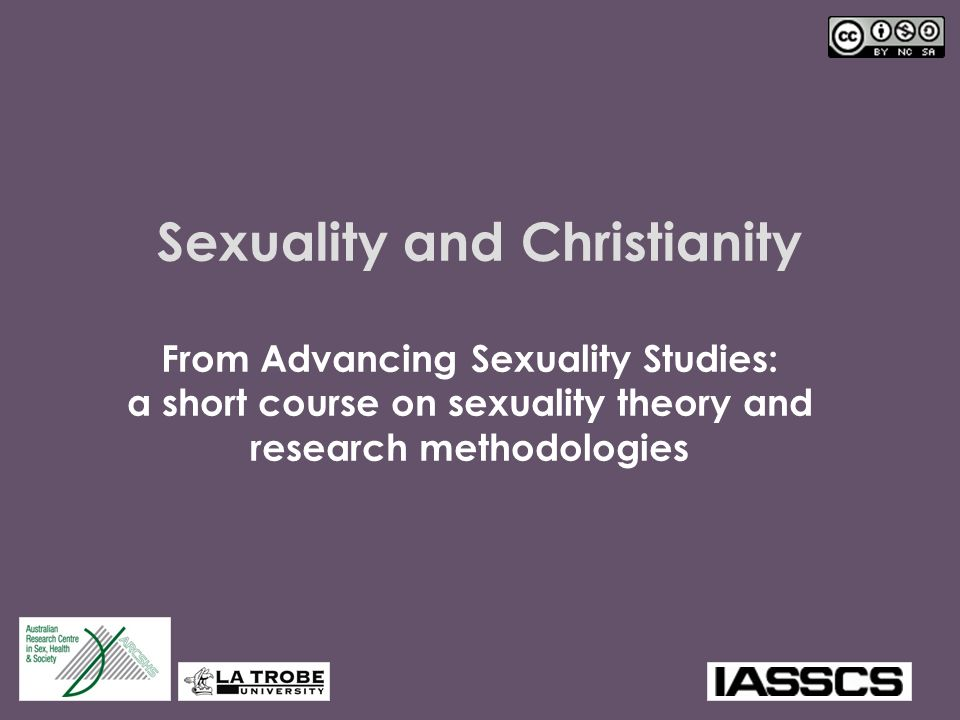 Sexuality and Christianity