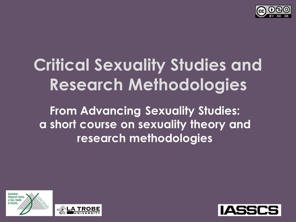 Critical Sexuality Studies and Research Methodologies