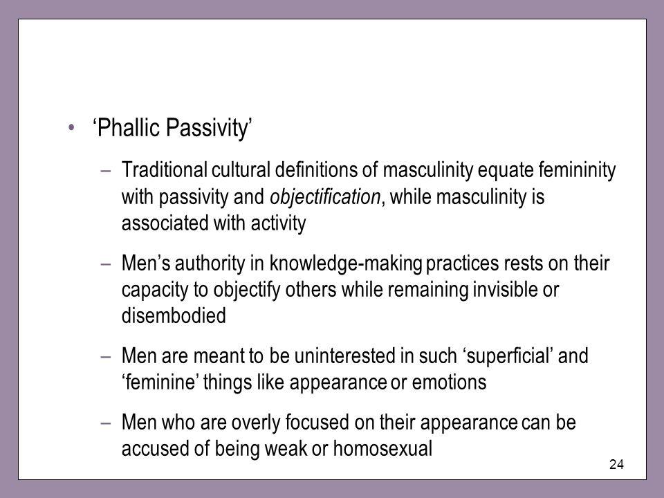 'Phallic Passivity'