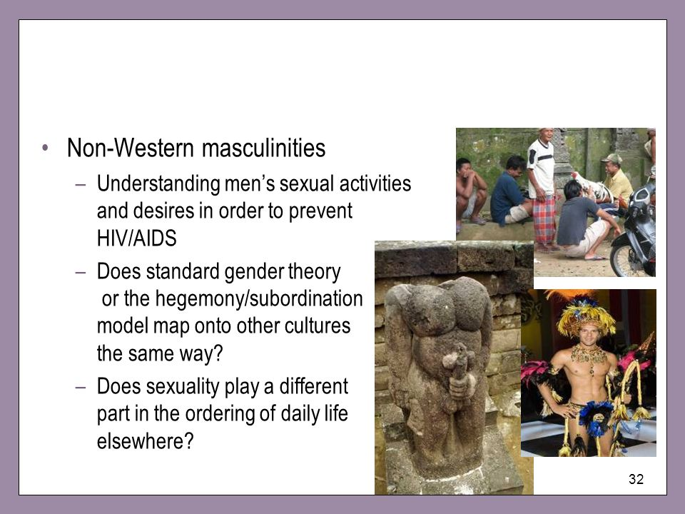 Non-Western masculinities