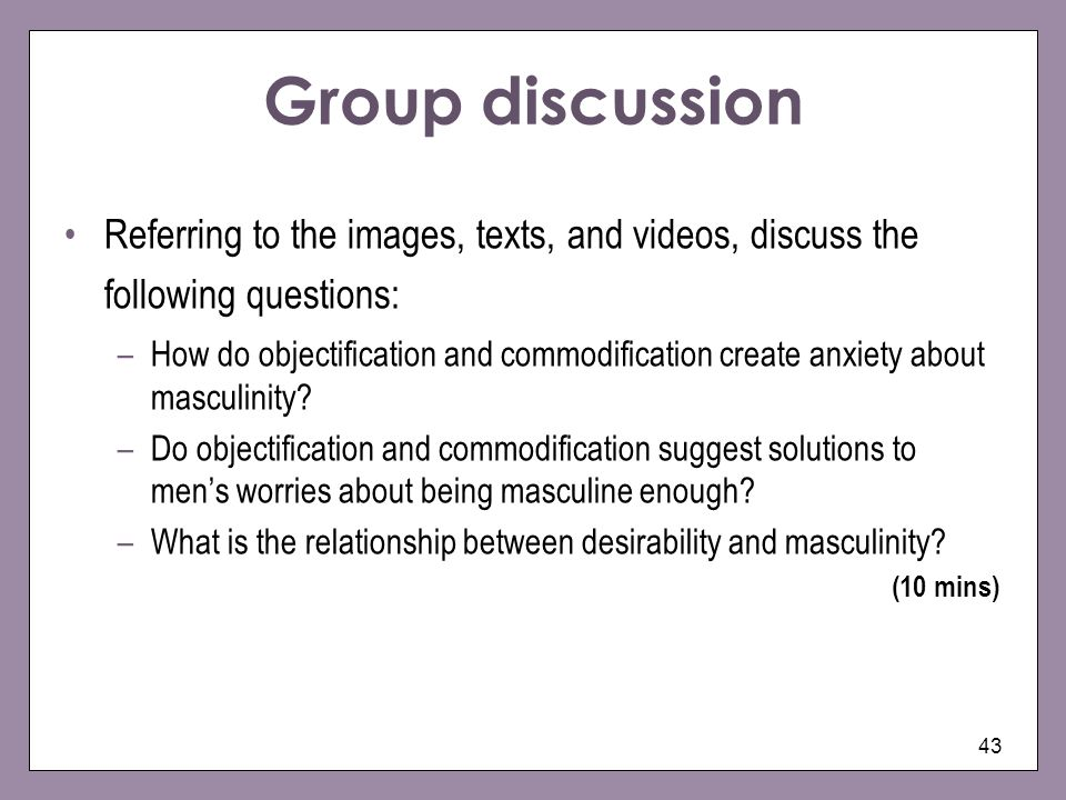 Group discussion Referring to the images, texts, and videos, discuss the following questions: