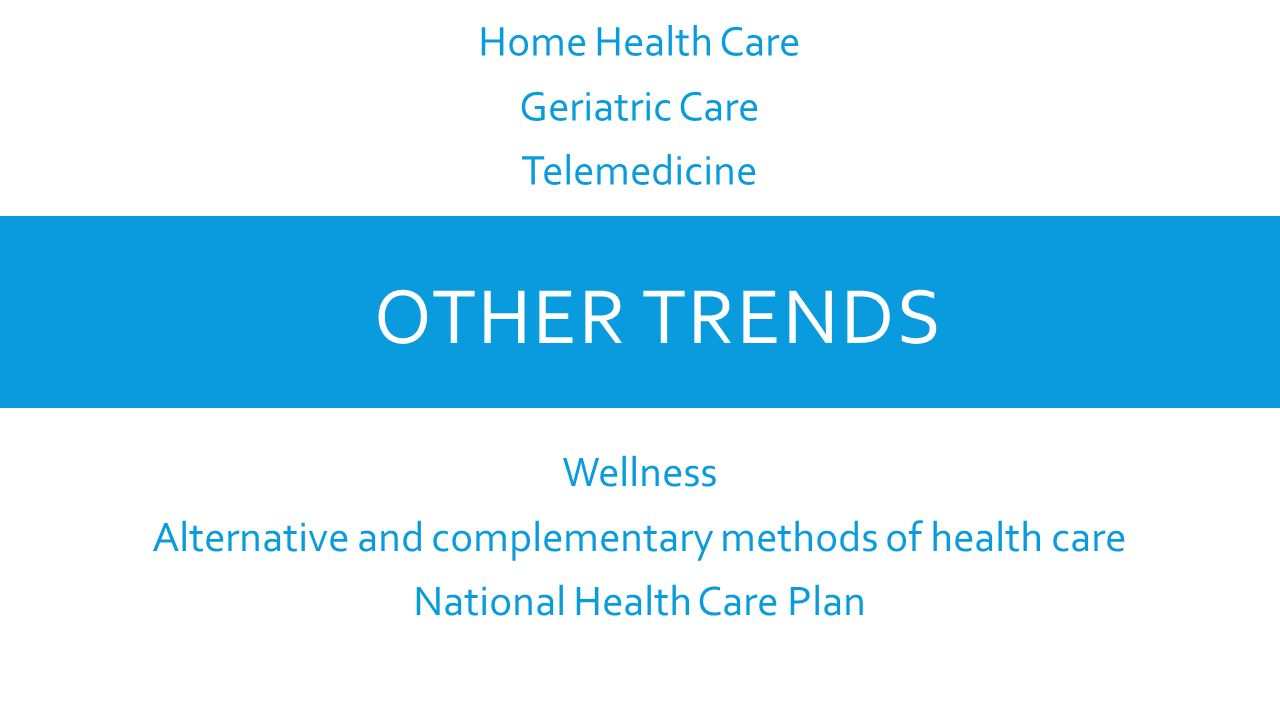 health care trends Healthcare design is the premier source of content on trends in healthcare design with in-depth coverage on facility planning and hospital renovations.