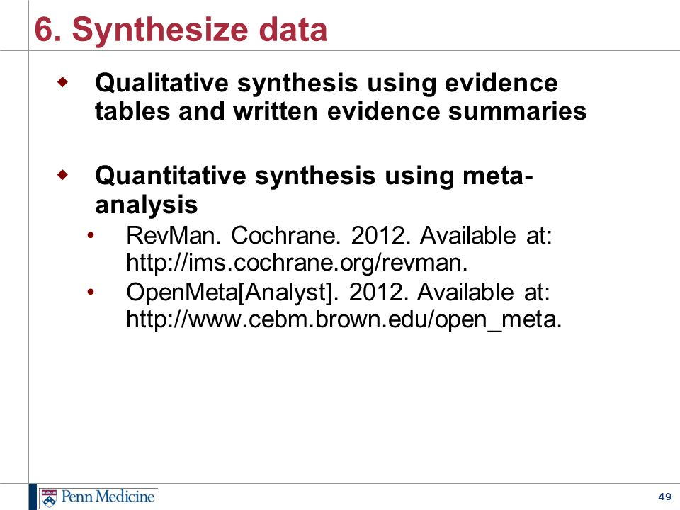 synthesising qualitative and quantitative research Integrative reviews or evidence synthesis of mixed methods studies • include  quantitative and qualitative studies • can be used for empirical.