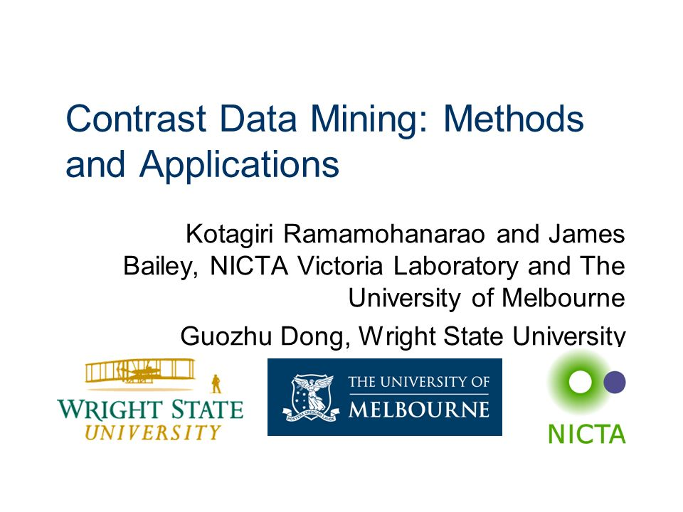 Contrast Data Mining: Methods and Applications
