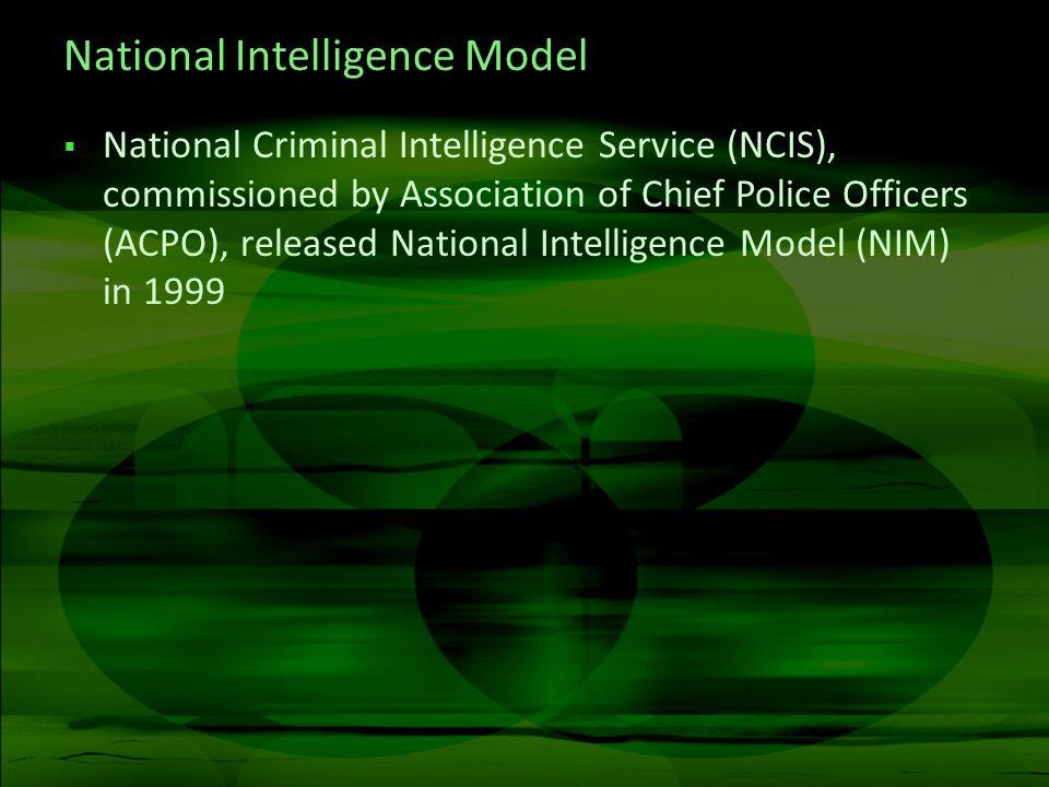 National Intelligence Model