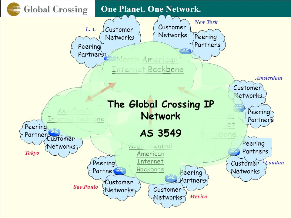 The Global Crossing IP Network