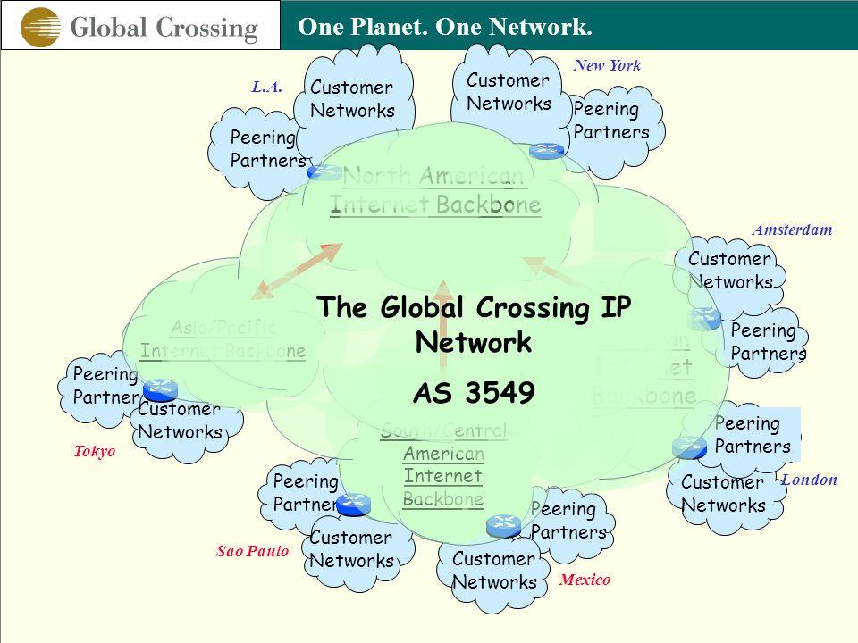 The Global Crossing IP Network