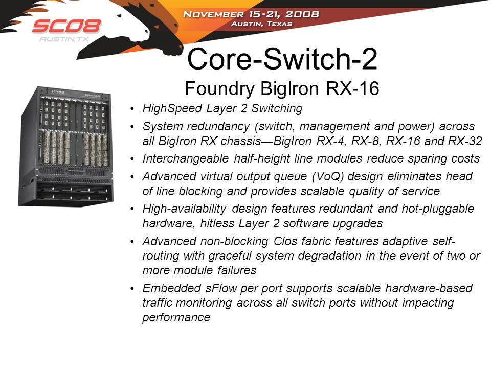 Core-Switch-2 Foundry BigIron RX-16
