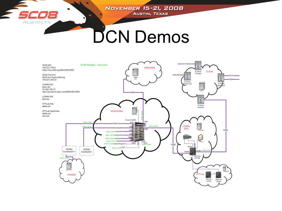 DCN Demos