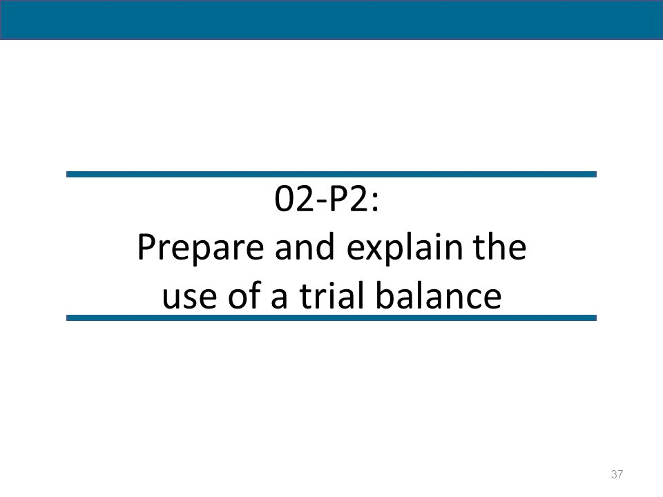how to prepare trial balance pdf