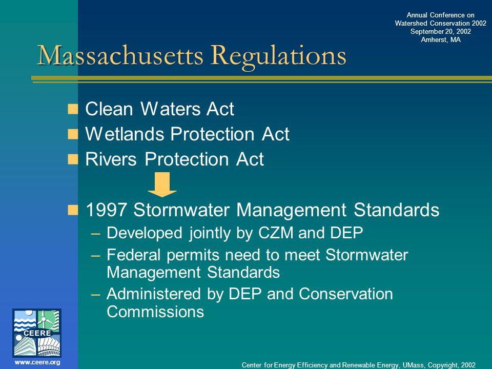 Massachusetts Regulations