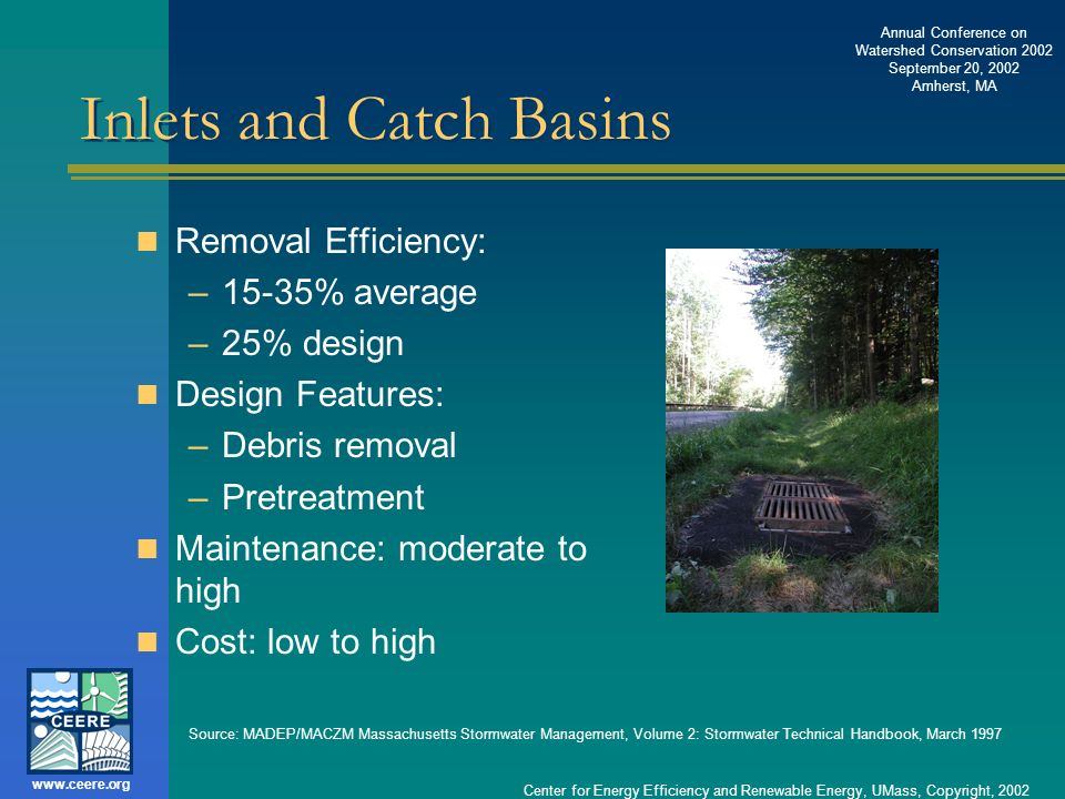 Inlets and Catch Basins