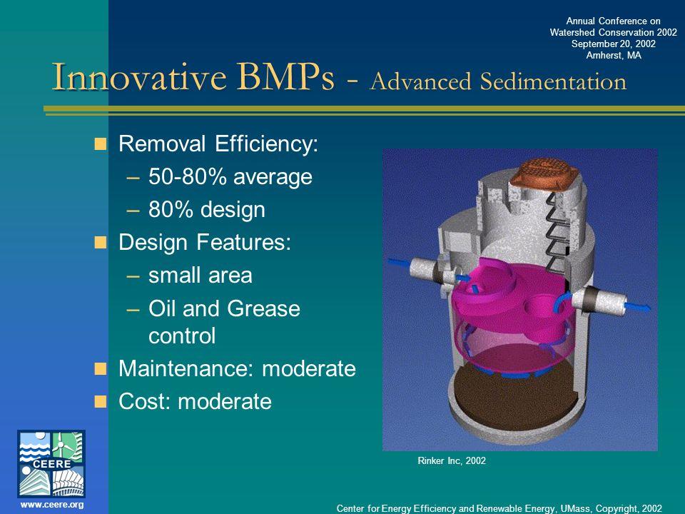 Innovative BMPs - Advanced Sedimentation