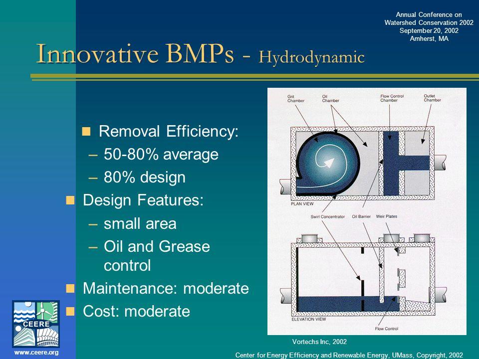 Innovative BMPs - Hydrodynamic