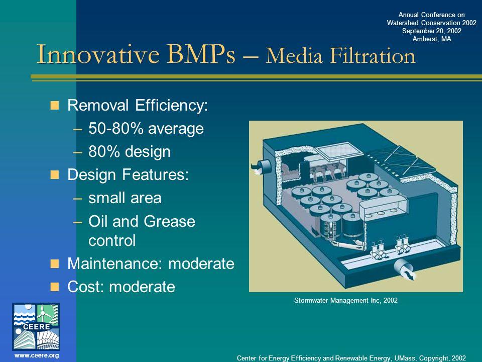 Innovative BMPs – Media Filtration
