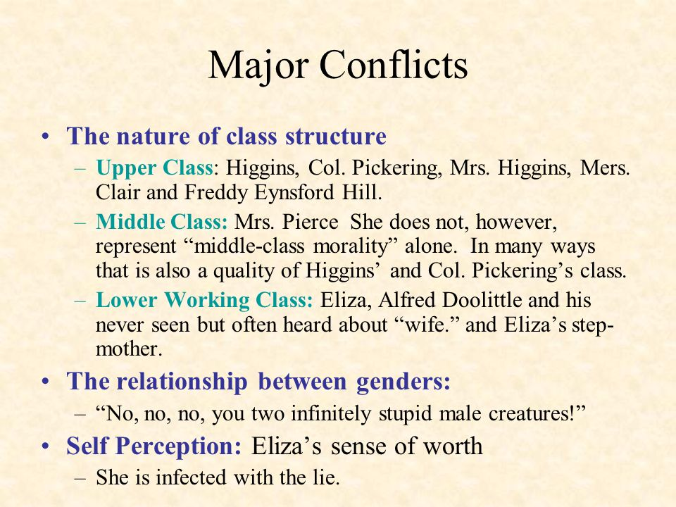 middle class morality in pygmalion essay Du page 1 middle class morality in pygmalionpygmalion is a brilliant play written by bernard shaw that gives us an idea of the value in the victorian era through the witty and rousing lines of his characters.