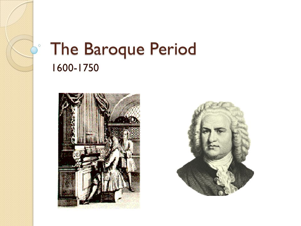 The baroque period ppt video online download for During the baroque period