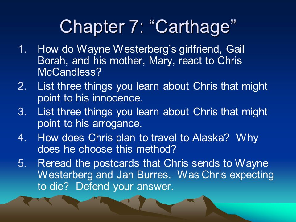 wayne westerberg and chris mccandless relationship with father