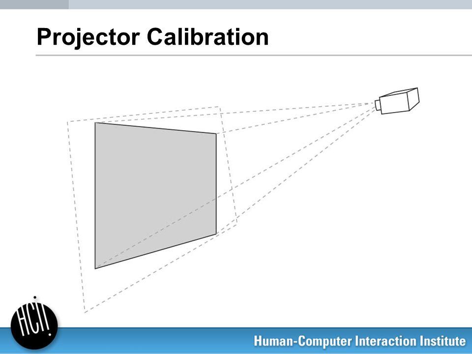 Projector Calibration